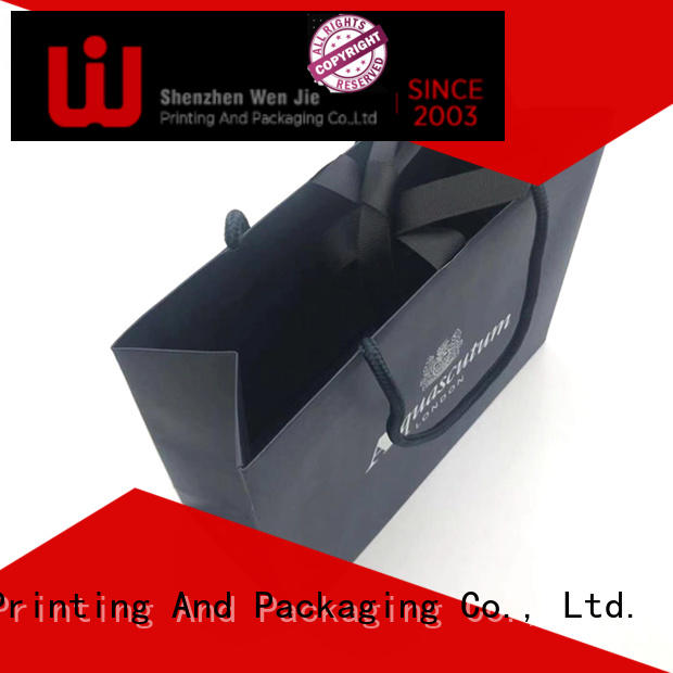 customized custom paper bag gift China wholesale for market