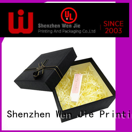 WenJie design 12x12 gift box from China for shop