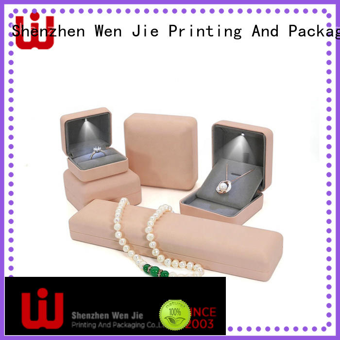 craft luxury jewelry box on sale for wrapping WenJie