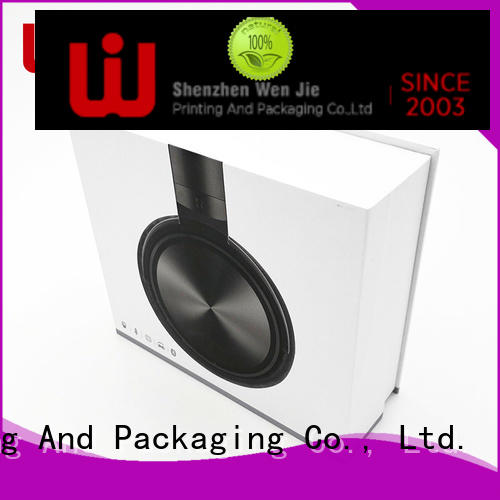 WenJie beautiful product boxes wholesale Supply for shipping