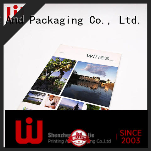 book catalog printing quality for restaurant WenJie