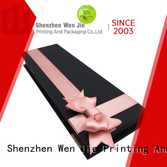 clear paper folding gift box paper directly price for store