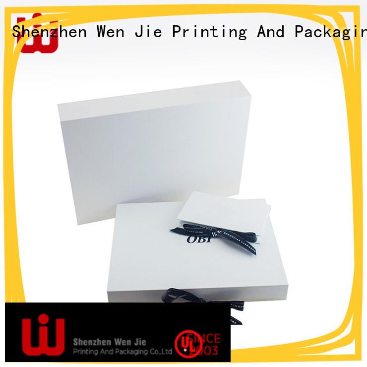 elegant magnetic folding box hair for store WenJie