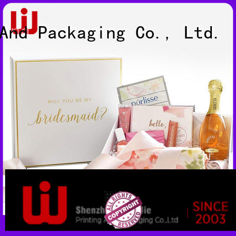 WenJie exquisite magnetic gift box wholesale for shop