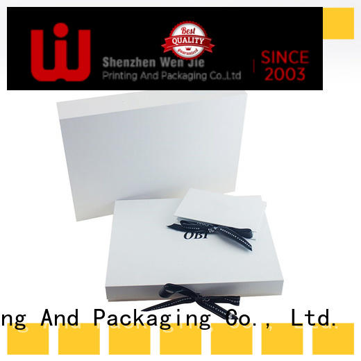 WenJie professional foldable storage box factory price for packing
