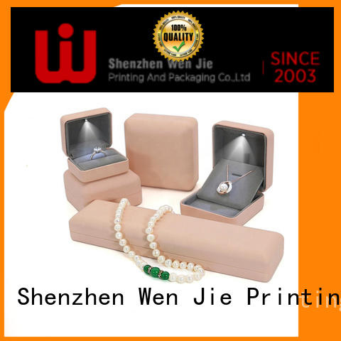 WenJie High-quality paper gift boxes with lids factory for packing