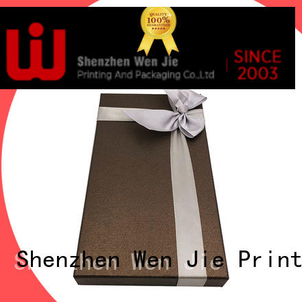 WenJie patterned gift packaging box supplier for shop