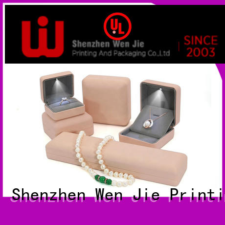 WenJie sample cardboard jewellery boxes wholesale company for wrapping