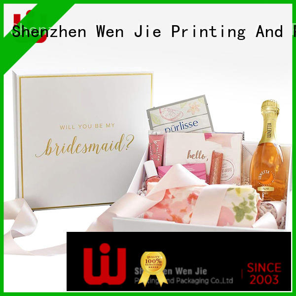 WenJie Wholesale quality gift boxes factory price for wrapping