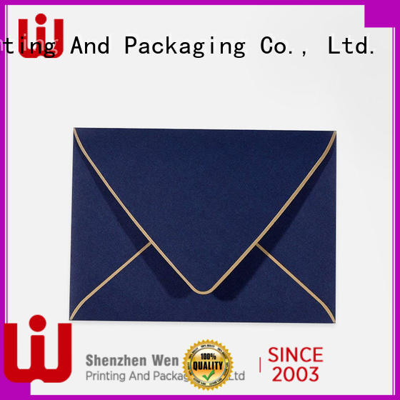 WenJie good quality letterhead printing services Supply for wedding