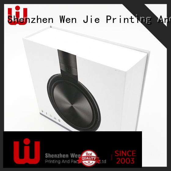 WenJie film gift box supplier factory for packing