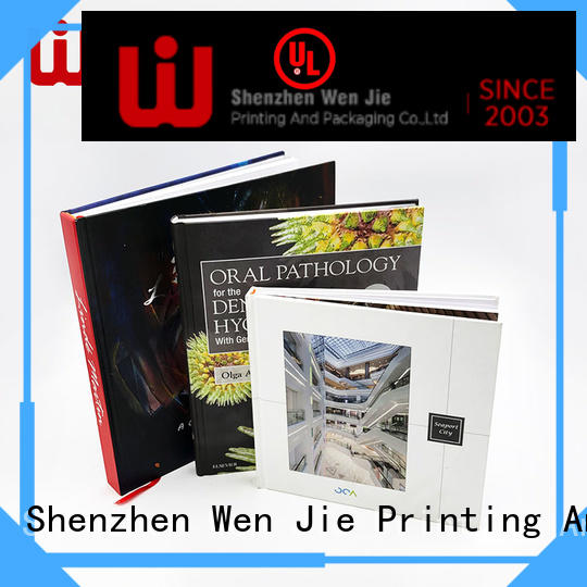 WenJie attractive custom magazine printing manufacturer for book store