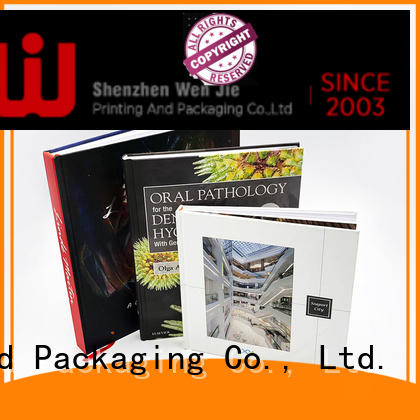 WenJie printing book printing manufacturer for press