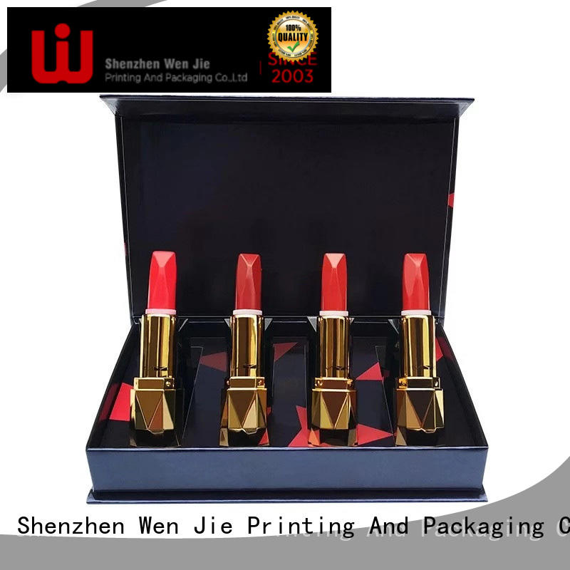 WenJie packaging cosmetic gift box set for store