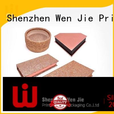 WenJie lid cosmetic box directly price for store
