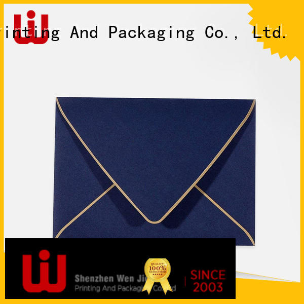 WenJie printing envelop bag manufacturer for book store