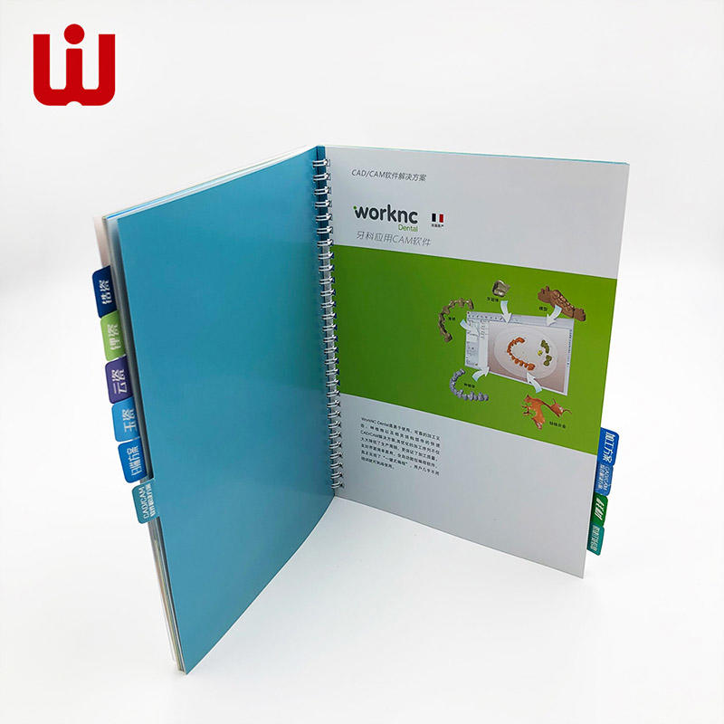 WenJie catalogbrochure art catalogue printing promotion for restaurant-2