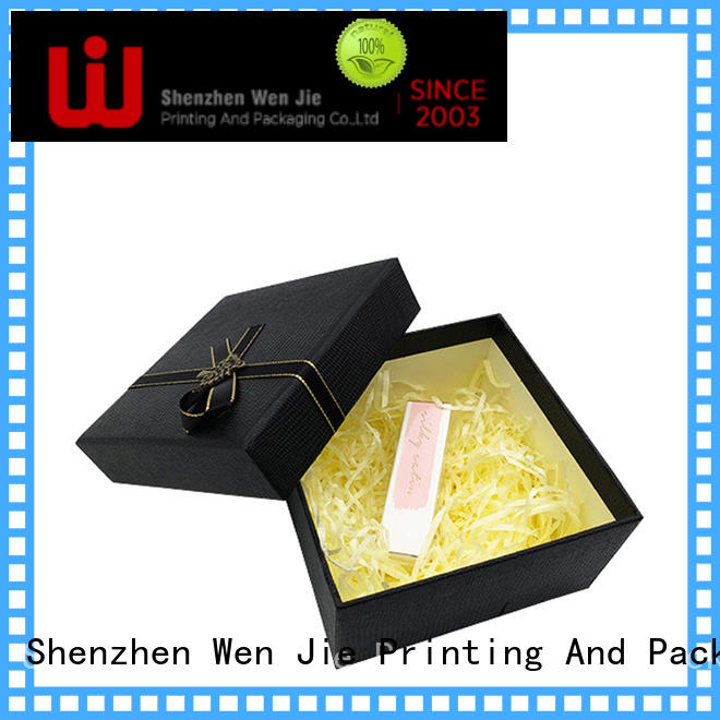 WenJie packaging paper gift box design for store