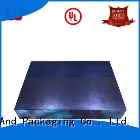 cardboard different cosmetic storage box false WenJie Brand company