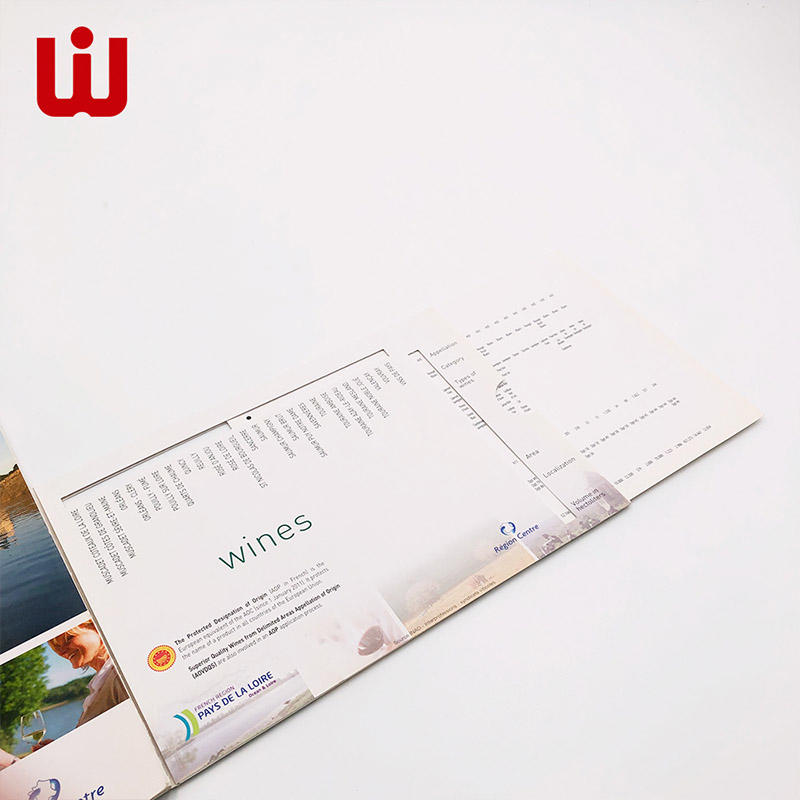 WenJie brochure personalised catalogue promotion for book store-1