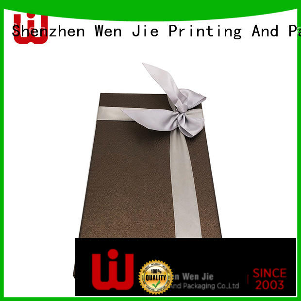 WenJie modern gift packaging box wholesale for store