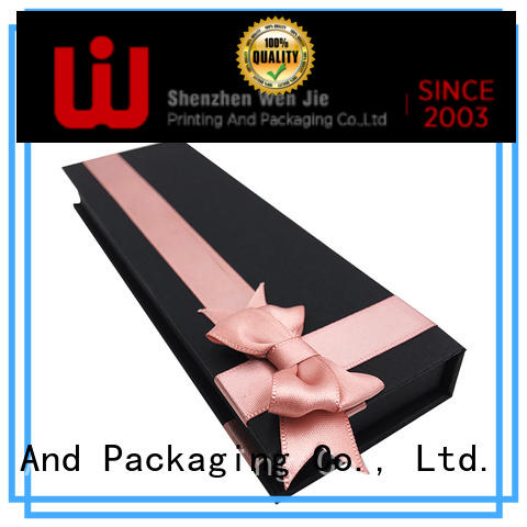 WenJie easy magnetic paper box company for gift