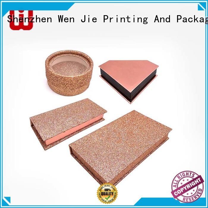 designs professional makeup box skincare WenJie company