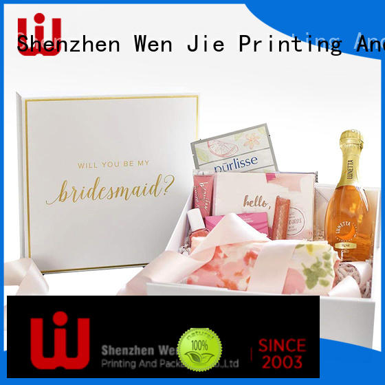 magnetic custom magnetic boxes folding for store WenJie