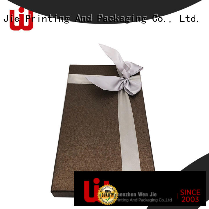 WenJie design gift packaging box wholesale for beauty store