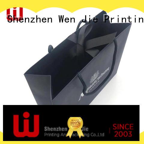 WenJie brown custom paper bag China wholesale for market
