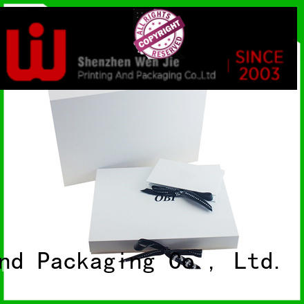WenJie elegant foldable storage box factory price for shoppe