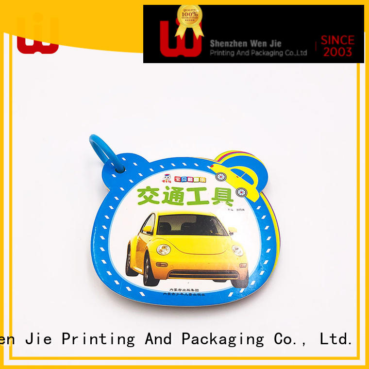 softcover book printing manufacturer for press WenJie