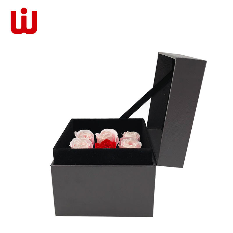 WenJie modern gift box with ribbon design for beauty store-2