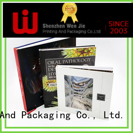 WenJie design custom magazine printing manufacturer for book store