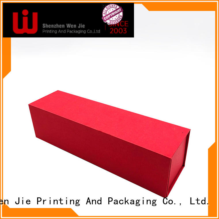 WenJie good quality folding storage boxes flat for store