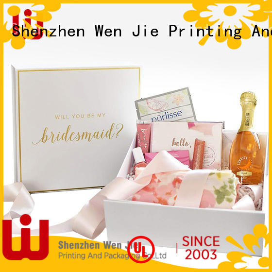 WenJie rolling cosmetic boxes wholesale uk set for beauty shop