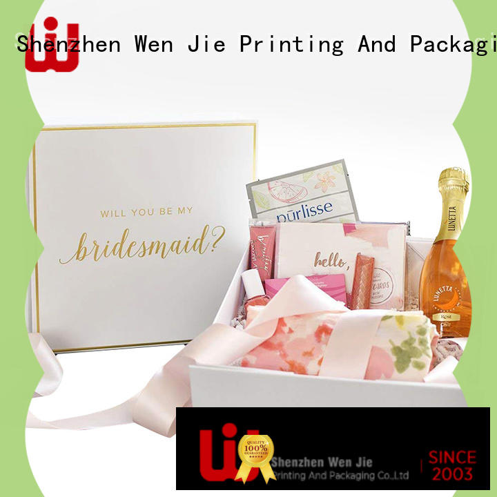 WenJie elegant magnetic box supplier for wrapping