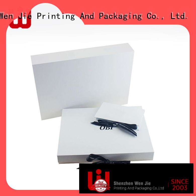 WenJie Best simplex paper box factory for store