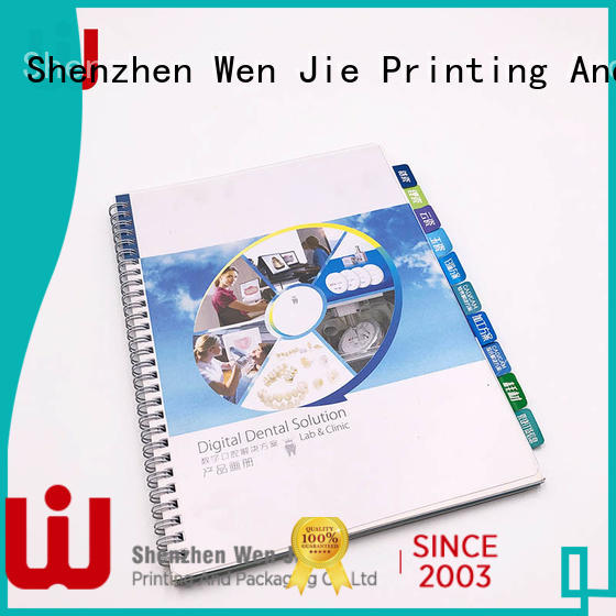 Top price of brochure printing quality factory for restaurant