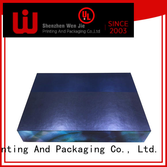 WenJie lid cosmetic box online for shoppe