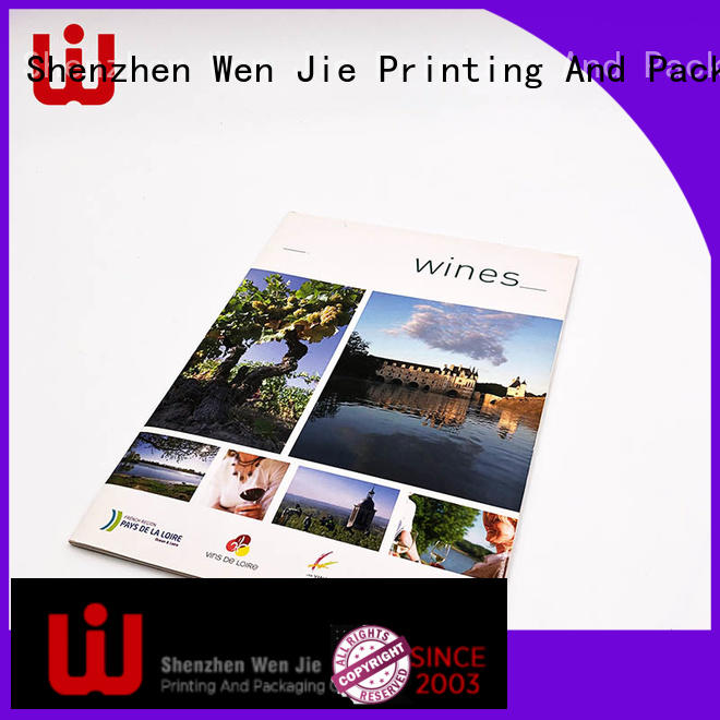 WenJie High-quality business flyer printing design for shop