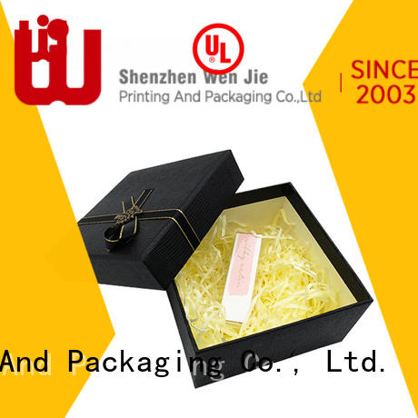 WenJie Custom small white cardboard gift boxes from China for beauty store