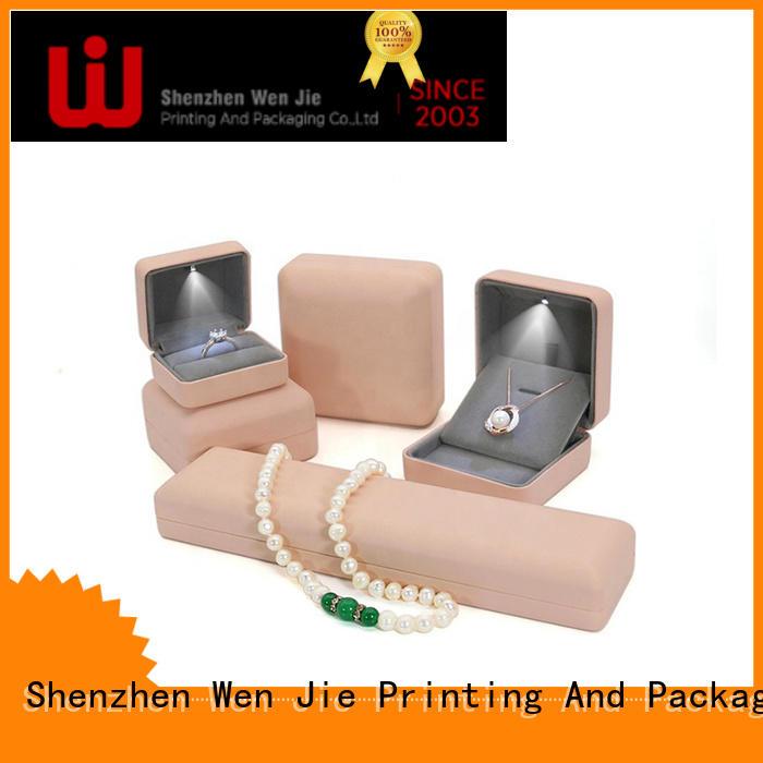 WenJie jewelry custom jewelry box online for gift