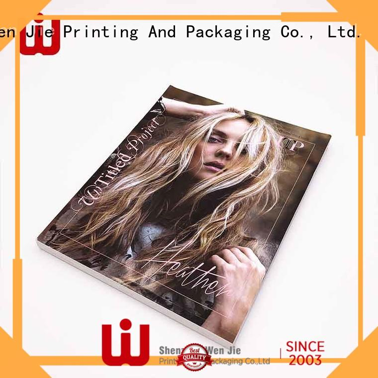 WenJie price professional business card printing manufacturers for press