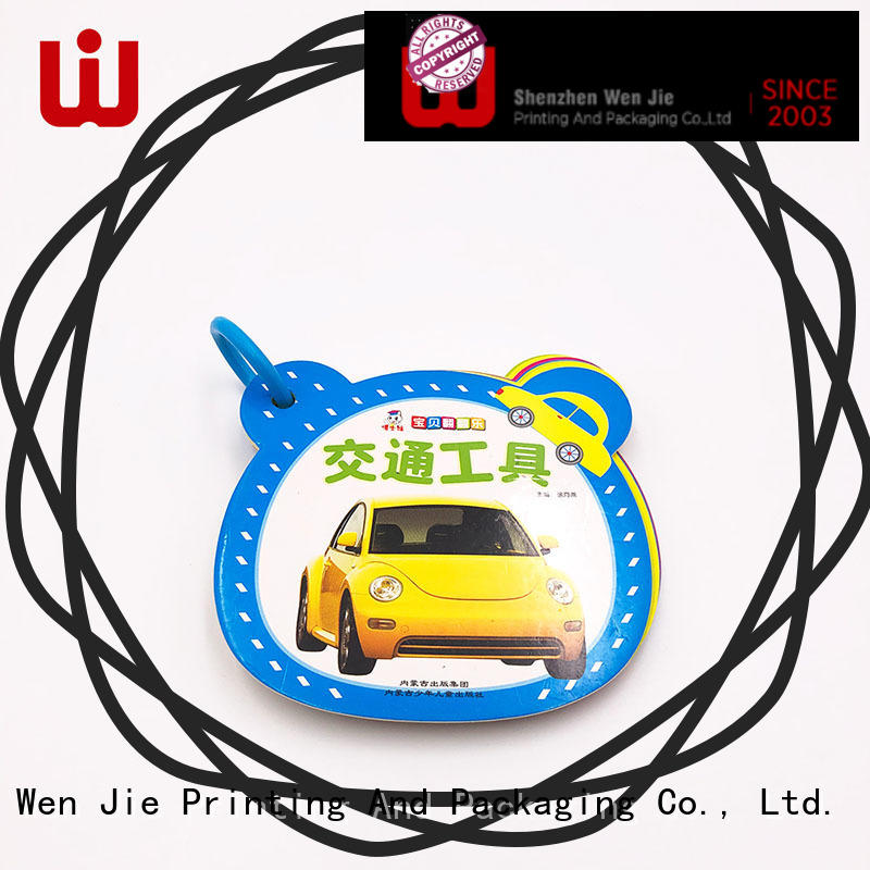 WenJie unique child book printing online for book store