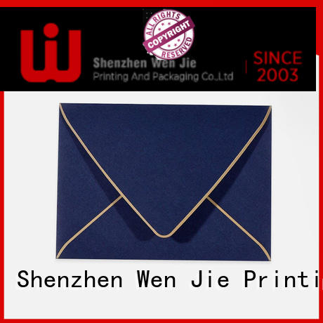 WenJie fancy envelopes supplier for wedding