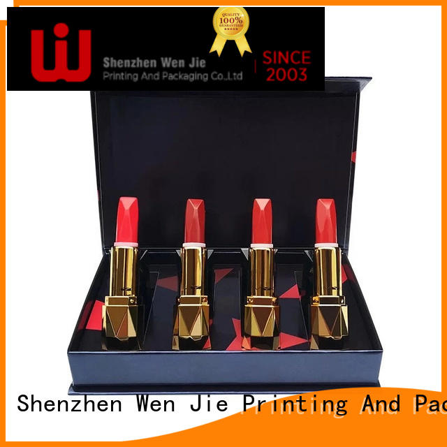 WenJie clear cosmetic storage box online for shop
