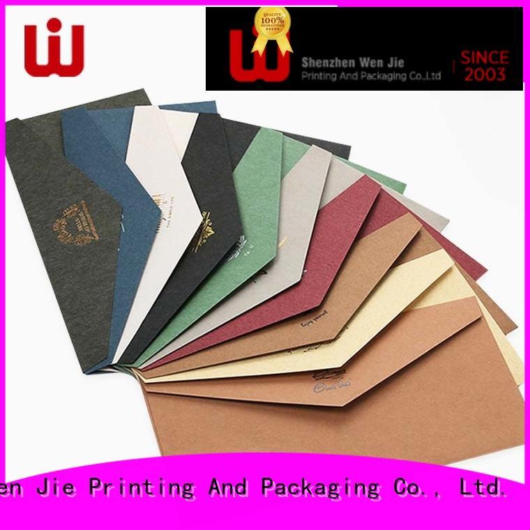 WenJie good quality envelop bag supplier for shop