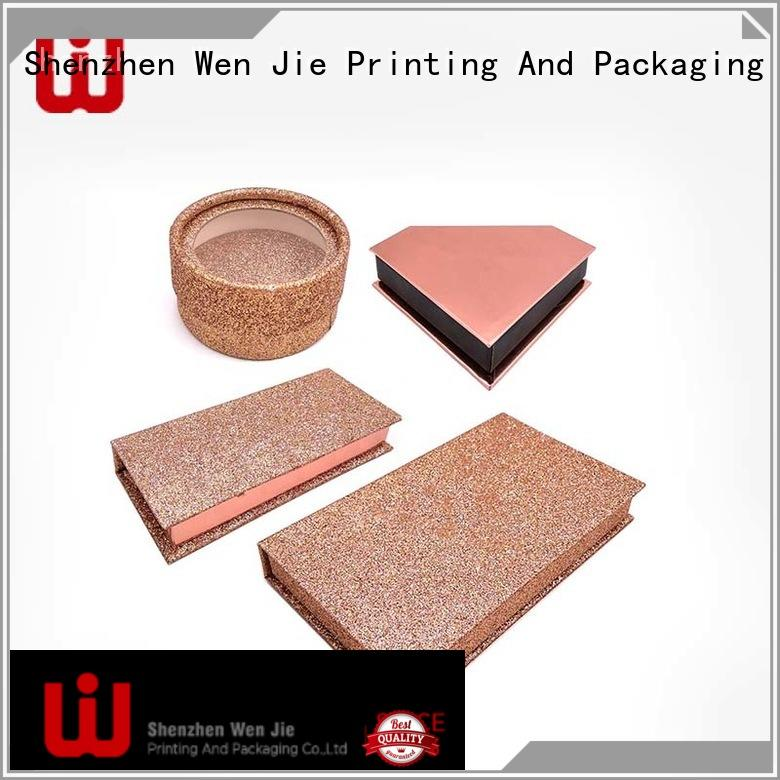 WenJie printing makeup box for sale manufacturers for shoppe