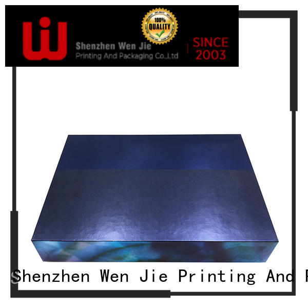 WenJie professional cosmetic paper box directly price for beauty shop